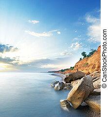 Beautiful sea landscape