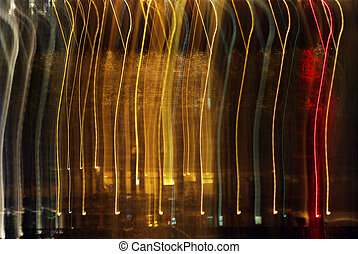 Abstract pattern of light. Element of design.