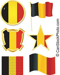 set of national subjects Belgium