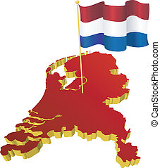 image map of Netherlands