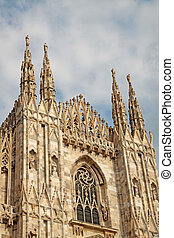 Duomo di Milano - Detail of Duomo of Milano, one of the most...