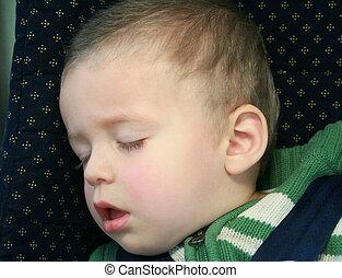 Baby boy sleeping