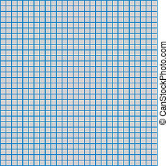paper texture - Details of a grid or matrix of blue...