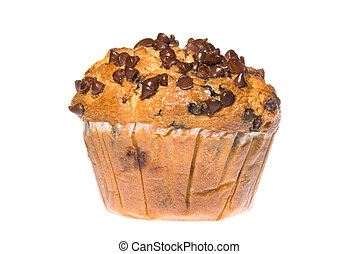 Chocolate Chip Muffin - A scrumptious chocolate chip muffin...