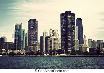 Chicago from the lake