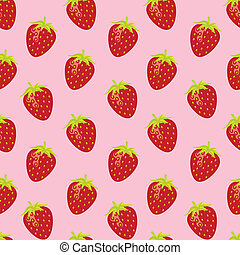 strawberry random pattern - Strawberry random repeatable...
