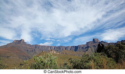Drakensberg mountains time lapse
