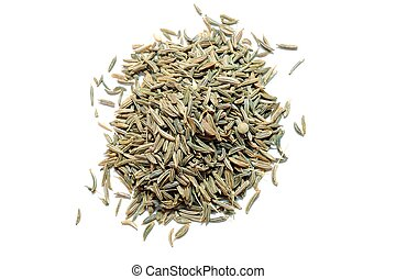 Cumin - An image of cumin seeds on the table