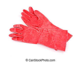 Industrial Plastic Gloves - Single pair of heavy duty...
