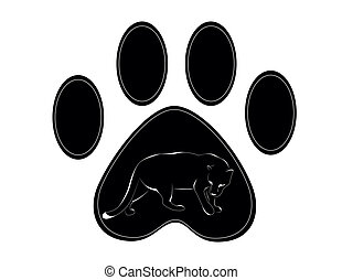 panther - 	paw of panther