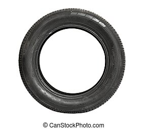 Tyre - Car tire isolated on white background