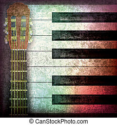 abstract music grunge background