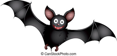 Bat - cartoon bat