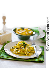 Tortellini with Butter and Sage - delicious italian fresh...