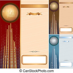 Diplomas - Set of vector template for your diplomas,...