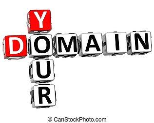 3D Your Domain Crossword