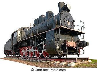 el, Más viejo, vapor, locomotora