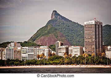 Visiting Rio de Janeiro - Cristo Redentor as seen from a...