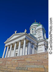 The Lutheran Cathedral in Helsinki