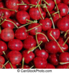 Pixel cherries