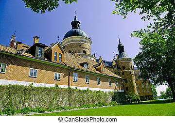 Swedish castle - Old Swedish Gripsholm Castle taken on June...