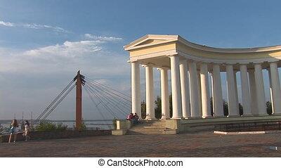 odessa 1 - Belvedere of Voroncovskiy Palace in Odessa city