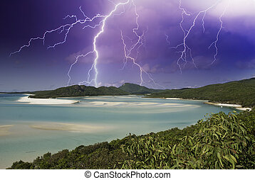 Colors of Whitehaven Beach, Australia - Colors of Whitehaven...