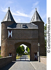 Klever Tor - old city gate called Klever Tor in Xanten