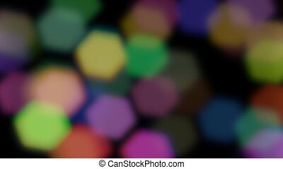 Defocused Particles