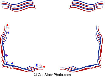 usa independance day elements - July fourth elements for...