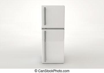 gris, refrigerador