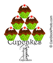 Cupcakes stack