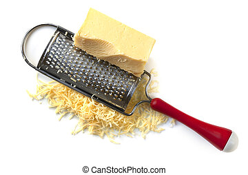 Cheese Grater with Cheddar - Cheese grater with cheddar,...
