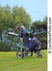golf, caddie