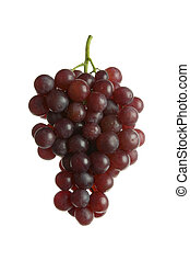 rojo, uvas