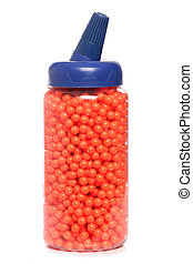 BB airsoft pellets studio cutout
