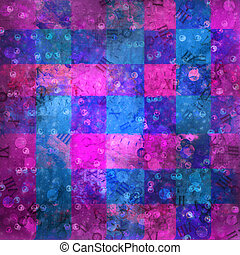 Abstract ancient background in scrapbooking style