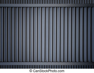 Wrought-iron gate metallic horizontal background