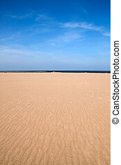 Empty beach scene with room for your text Perfect for cover...