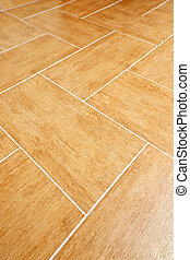 Ceramic tile floor - Ceramic tiles flooring close up as...