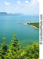 Lake Superior - Beautiful landscape of Lake Superior...