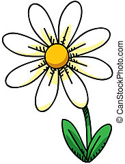 Daisy - Cartoon Daisy