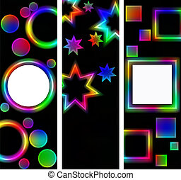 Abstract background of the night sky; star on a...