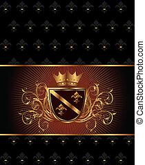 luxury vintage frame template