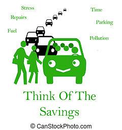carpool commute - smart commuters sharing a carpool vehicle...