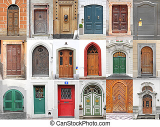 doors_3 - Small collection of ancient doors