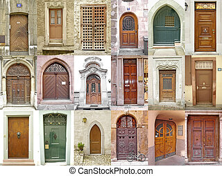 doors_2 - Small collection of ancient doors