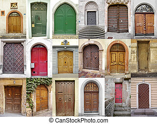 doors_1 - Small collection of ancient doors