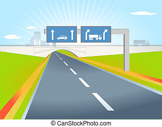 truck direction