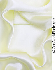Smooth elegant yellow silk can use as wedding background
